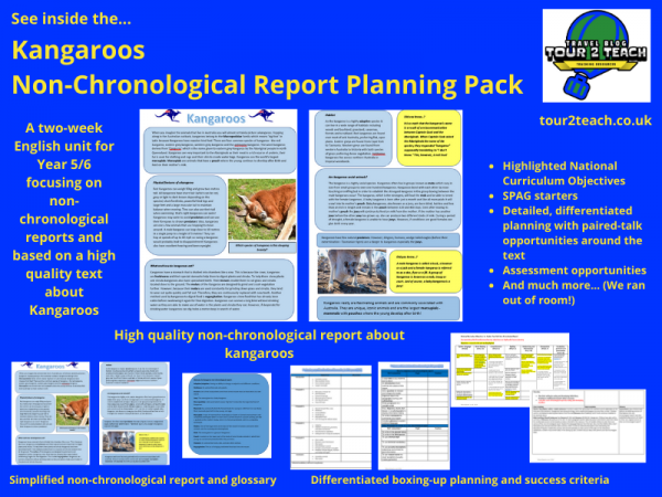 kangaroo non chronological report inside