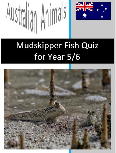 Mudskipper Fish Quiz
