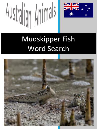 Mudskipper Word Search