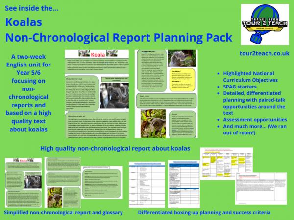 koala non-chronological report inside