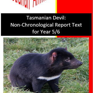 Tasmanian Devil Text