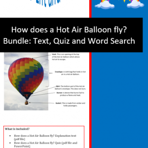 how does a hot air balloon fly bundle