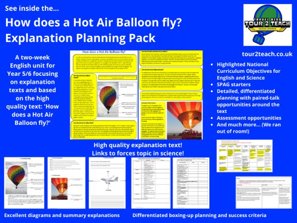 how does a hot air balloon fly inside