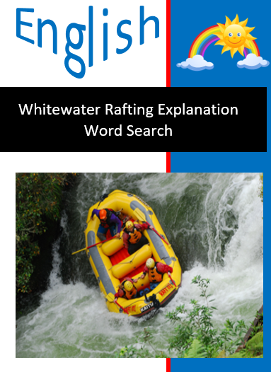 Whitewater Rafting Word Search