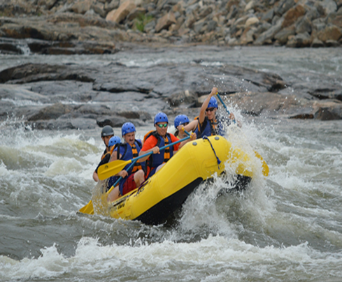 whitewater rafting explanation text