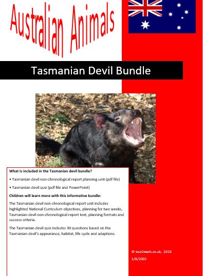 tasmanian devil bundle
