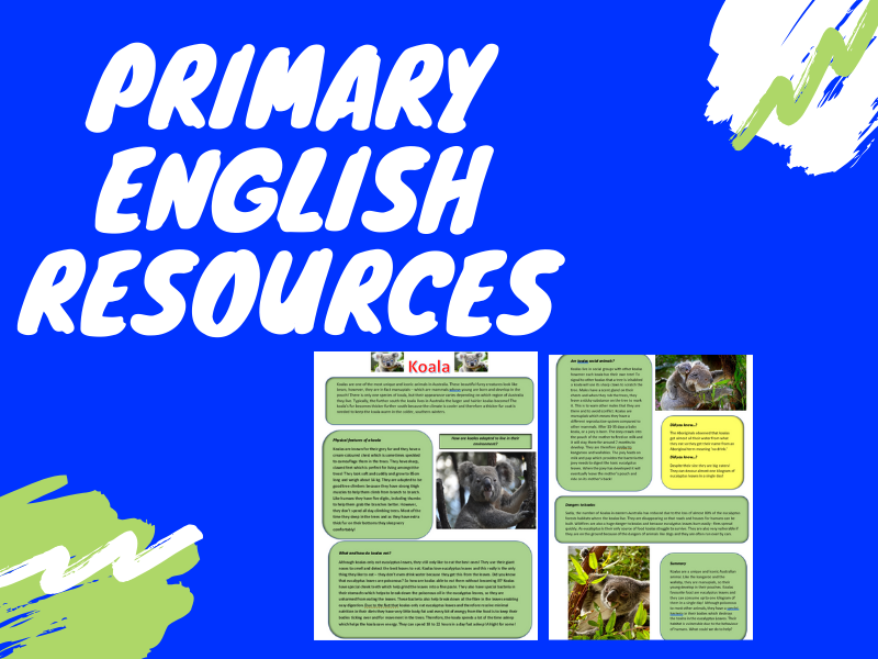 Primary English Resources