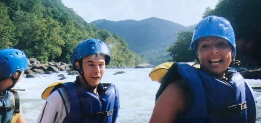 Whitewater Rafting on New River