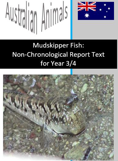 Mudskipper Fish Text